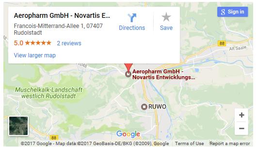 Aeropharm Map